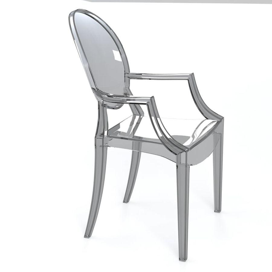 Fauteuil Louis Ghost De Philippe Starck kartell fauteuil louis ghost philippe starck glass modèle 3d