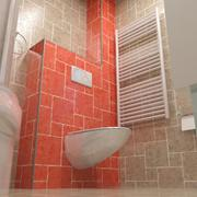 浴室 3d model