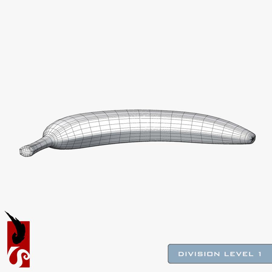 바나나 royalty-free 3d model - Preview no. 12