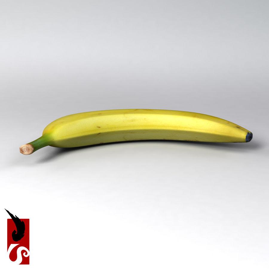 바나나 royalty-free 3d model - Preview no. 3