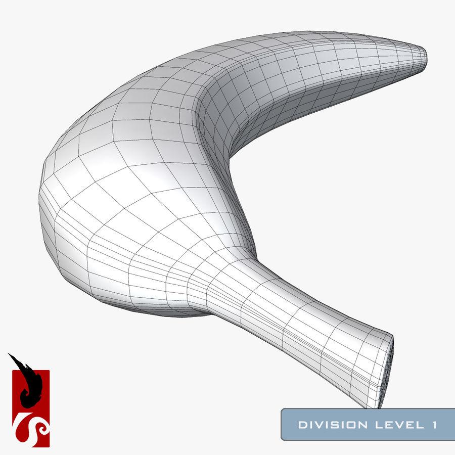 바나나 royalty-free 3d model - Preview no. 16