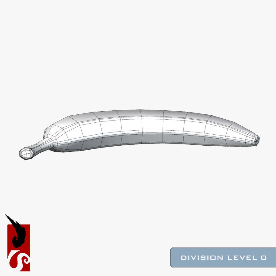 바나나 royalty-free 3d model - Preview no. 7