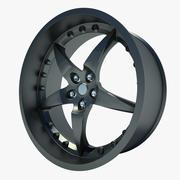 汽车轮01 3d model