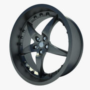 Auto Wheel 01 3d model
