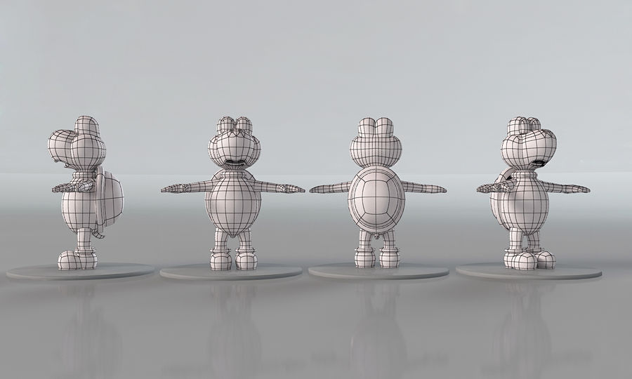 Купа Troopa royalty-free 3d model - Preview no. 9