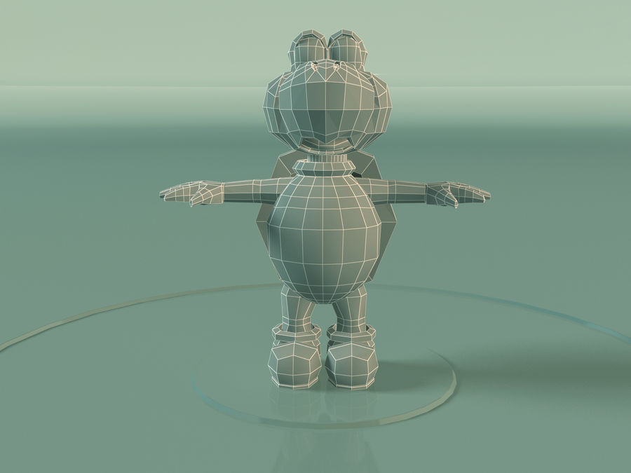 Купа Troopa royalty-free 3d model - Preview no. 6