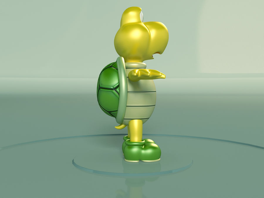 Купа Troopa royalty-free 3d model - Preview no. 2