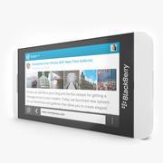 Blackberry Z10 Smartphone Branco 3d model