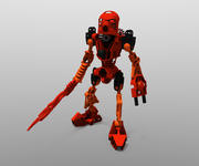 Robô Bionicle Lego - Tahu 3d model