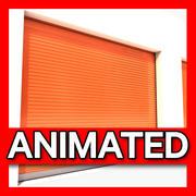 Depolama Garajı animasyonlu 3d model