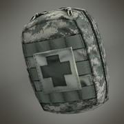 Kompakt Ordu Bireysel İlk Yardım Çantası (IFAK) 3d model