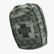 コンパクトアーミー個人救急箱(IFAK) 3d model