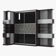 滑动柜 3d model