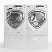 Washer and Dryer 3d model