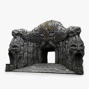 Cave-Entrance 2 3d model