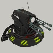 Башенка Belcebu 3d model