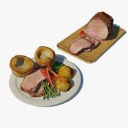 Rundvleesdiner 3d model