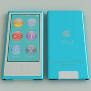 Ipod Nano Generation 7th Blue 3d model