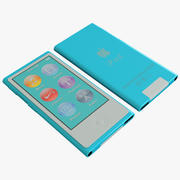 Ipod Nano Generation 7th Blue 3d model