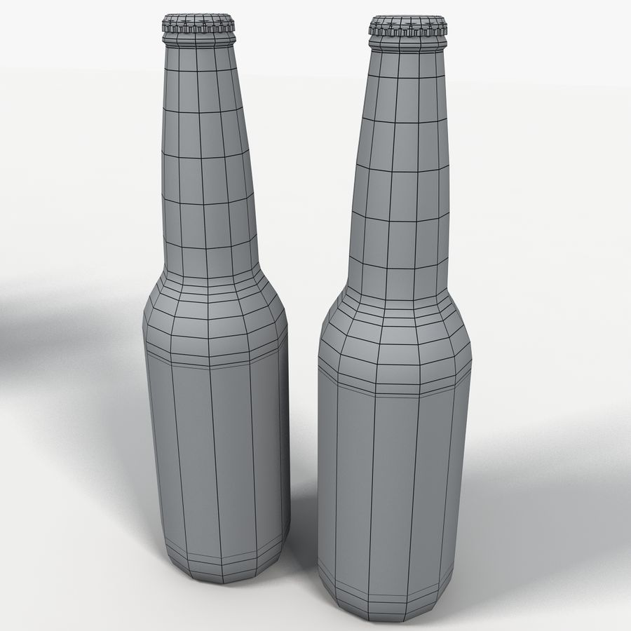 Six Pack of Corona Extra royalty-free 3d model - Preview no. 2