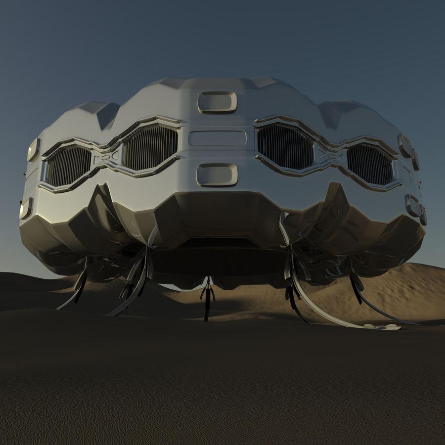 Три Пустыни royalty-free 3d model - Preview no. 4