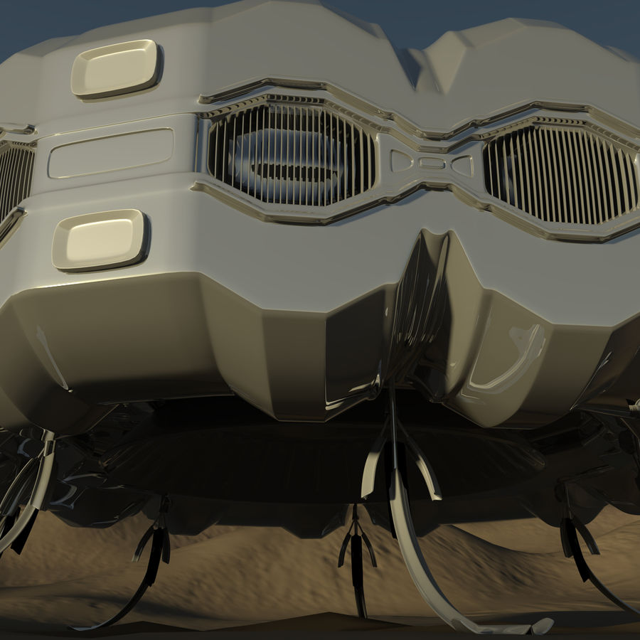 Три Пустыни royalty-free 3d model - Preview no. 5