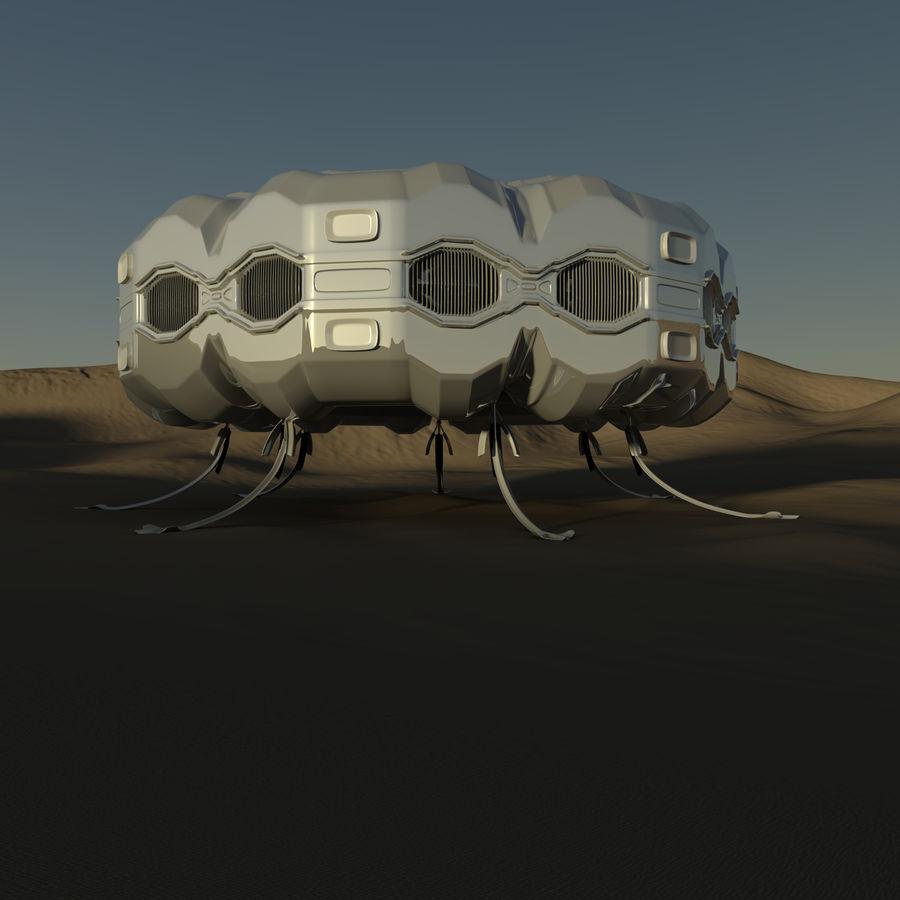 Три Пустыни royalty-free 3d model - Preview no. 6