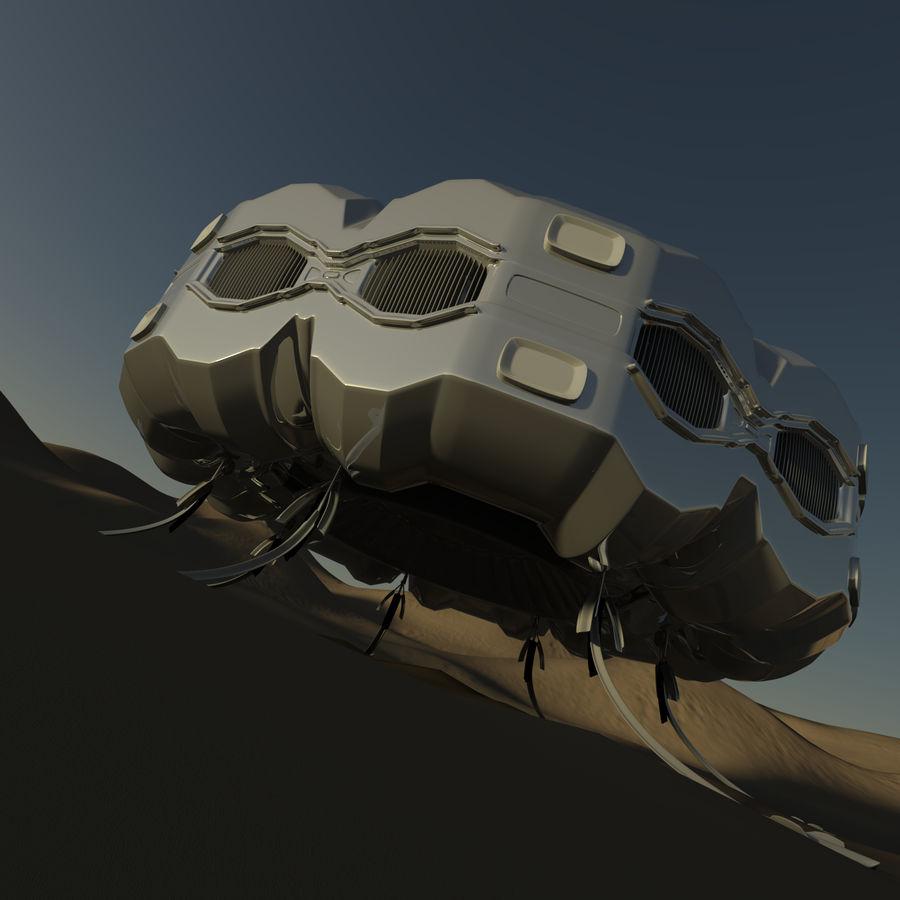 Три Пустыни royalty-free 3d model - Preview no. 1