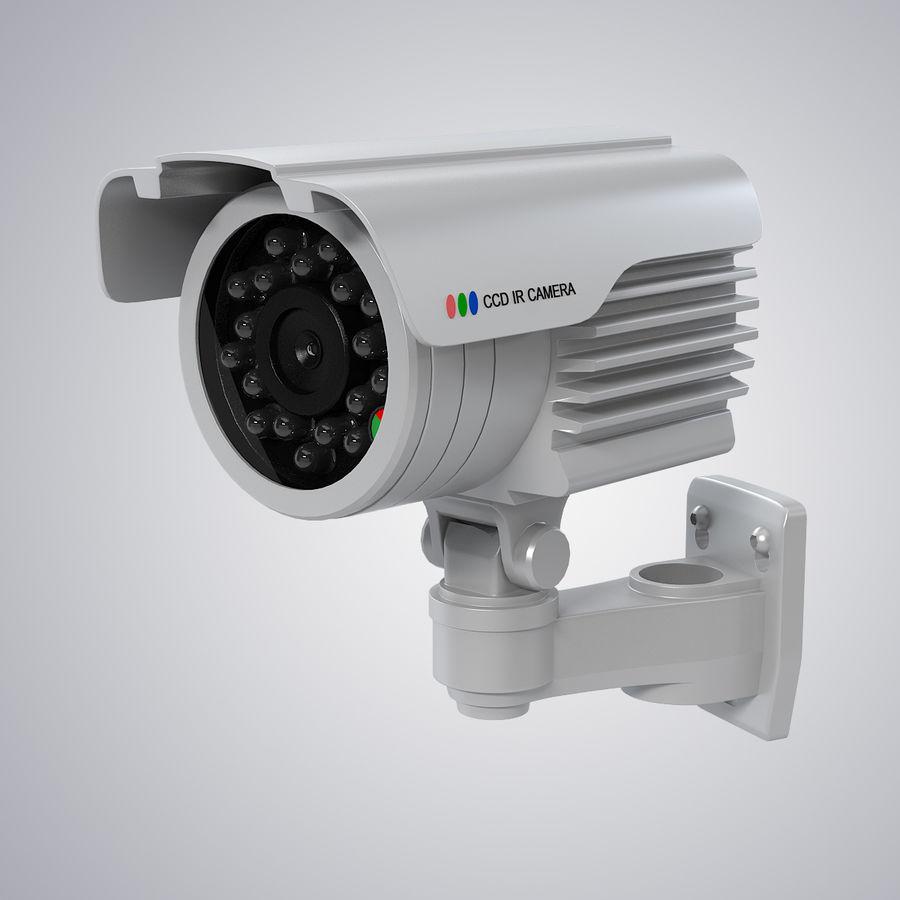 Caméra de surveillance étanche royalty-free 3d model - Preview no. 2