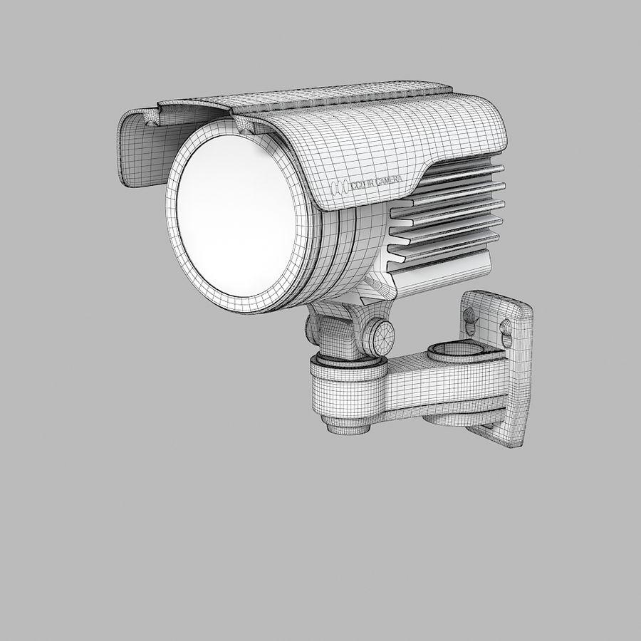 Caméra de surveillance étanche royalty-free 3d model - Preview no. 5