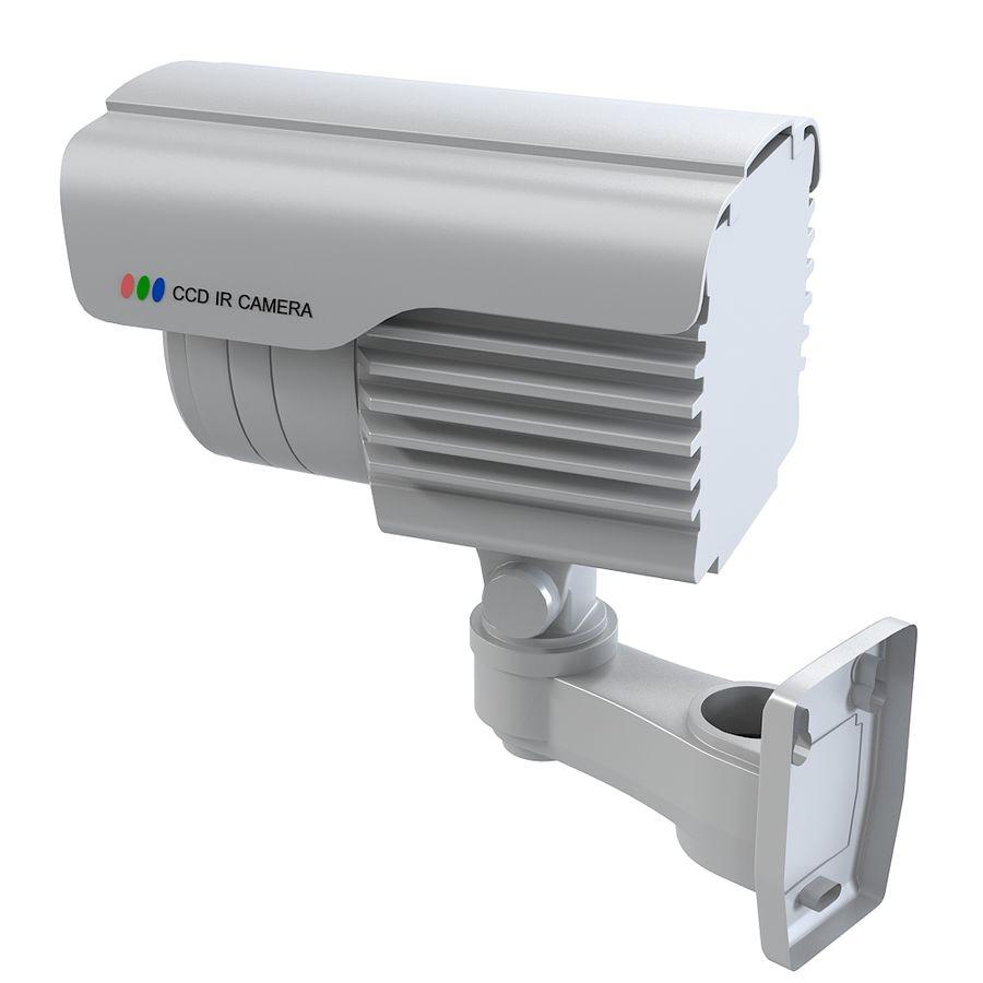 Caméra de surveillance étanche royalty-free 3d model - Preview no. 4