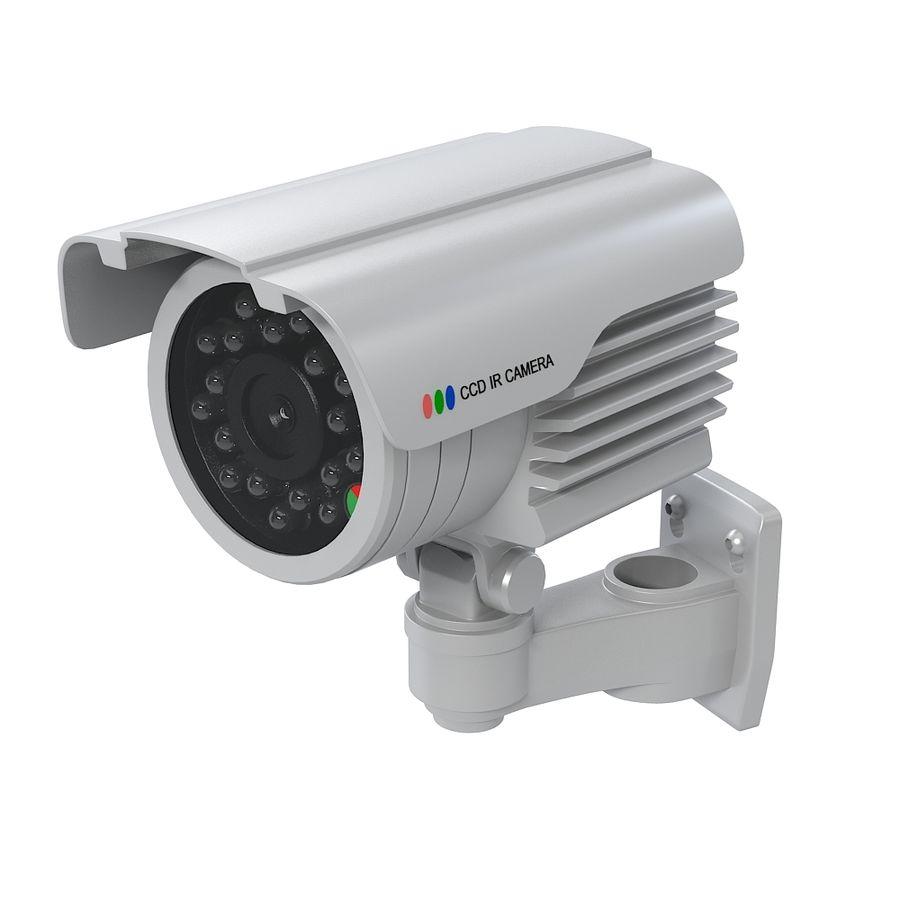 Caméra de surveillance étanche royalty-free 3d model - Preview no. 7