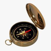 现代指南针 3d model