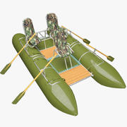 Catamaran double 3d model