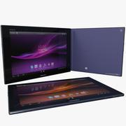 索尼Xperia Tablet Z 3d model