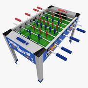 축구 테이블 3d model