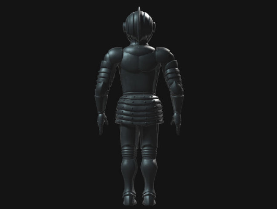 Armor Knight royalty-free 3d model - Preview no. 3