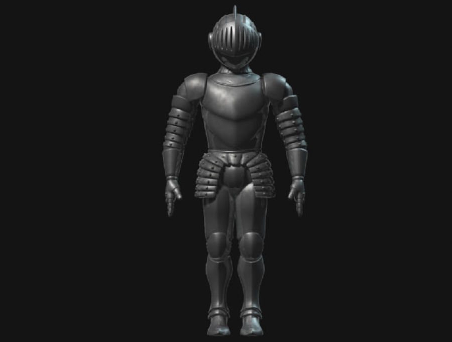 Armor Knight royalty-free 3d model - Preview no. 2