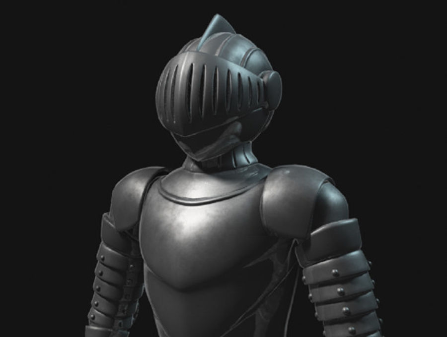 Armor Knight royalty-free 3d model - Preview no. 1