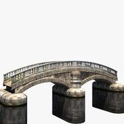 Old Stone Bridge 3d model