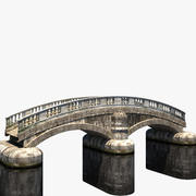Old Stone Bridge 3d model