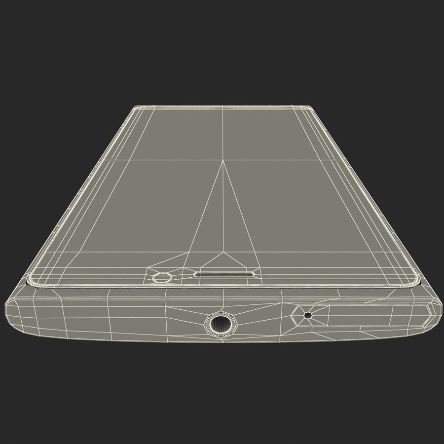Nokia Lumia 920 Red royalty-free 3d model - Preview no. 28