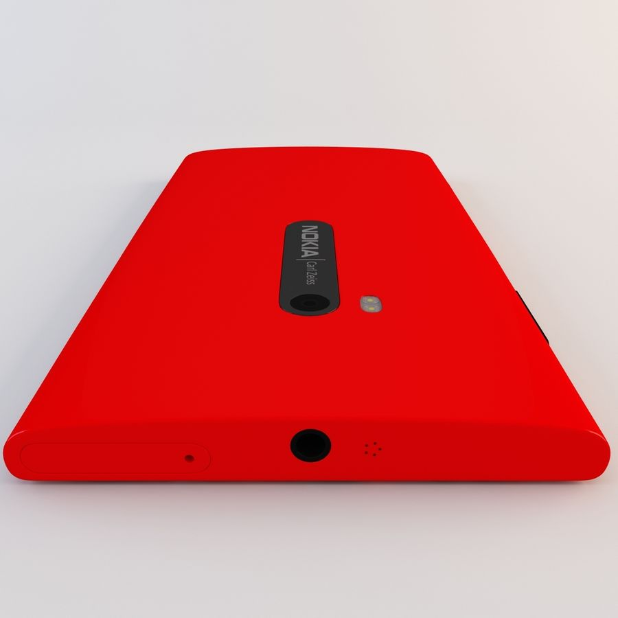 Nokia Lumia 920 Red royalty-free 3d model - Preview no. 14