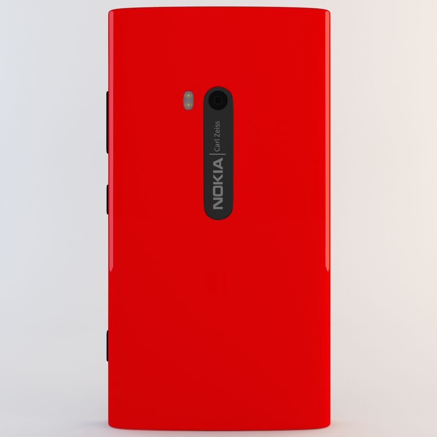 Nokia Lumia 920 Red royalty-free 3d model - Preview no. 6