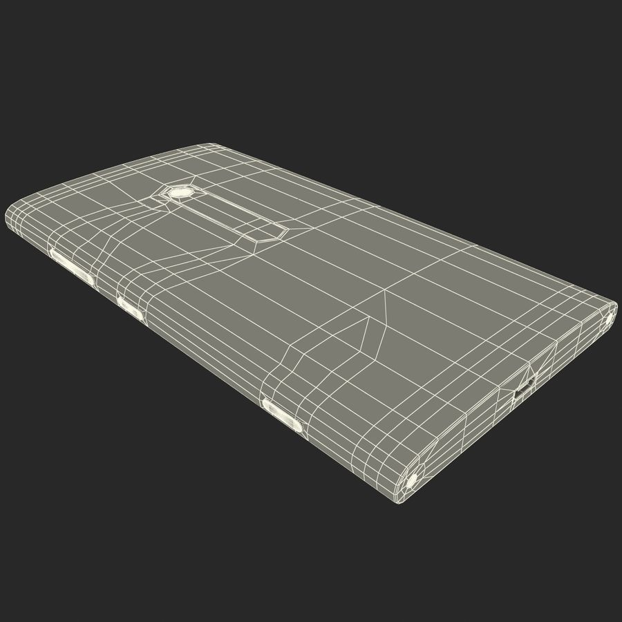 Nokia Lumia 920 Red royalty-free 3d model - Preview no. 31