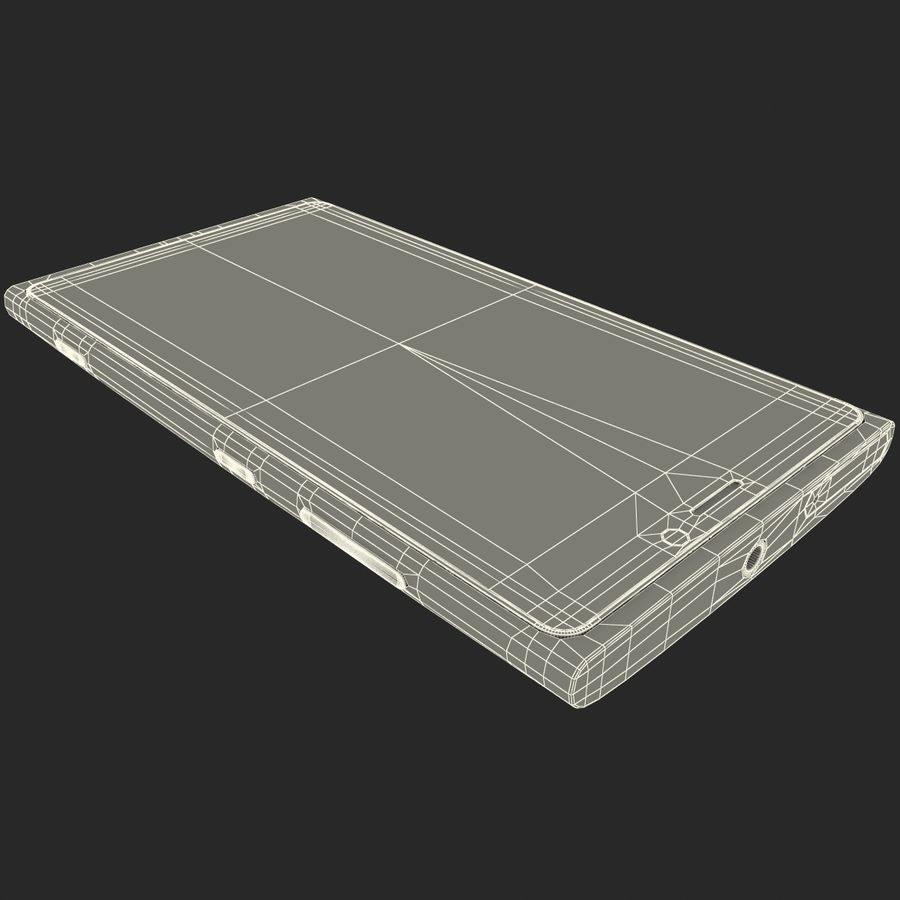 Nokia Lumia 920 Red royalty-free 3d model - Preview no. 30