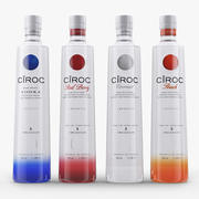 Kolekcja wódki Ciroc 3d model