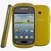 Samsung Galaxy Music Yellow 3d model