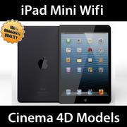 iPad Mini Wifi Black & White C4D 3d model