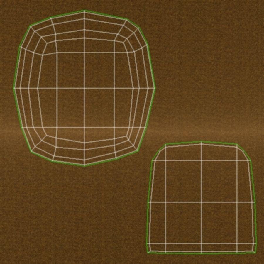 Silla de cocina 3 royalty-free modelo 3d - Preview no. 20